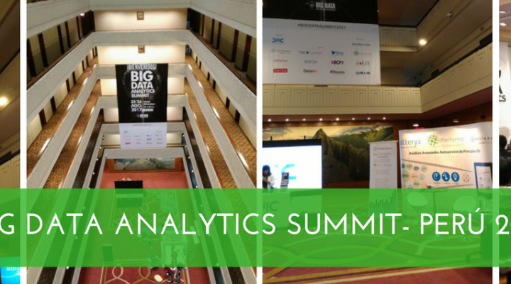 Memorias: itPerforma en el Big Data Analytics Summit 2017, Perú.